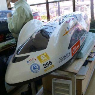 1リットルで約2,500kmも走る自動車を学生自らがエンジンまで制作
