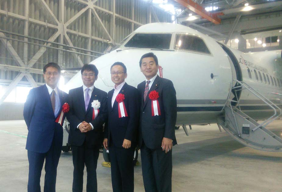 地元愛知県はアジアNO.1航空宇宙産業クラスター形成特区として、航空宇宙産業の振興に取り組んでいます