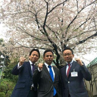 今夏の東京都議選に向け出発!