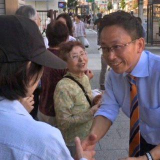 愛知県下各地で街頭演説会