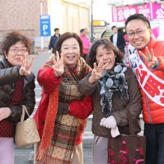 【告知】12/3(水) 街頭演説会の開催