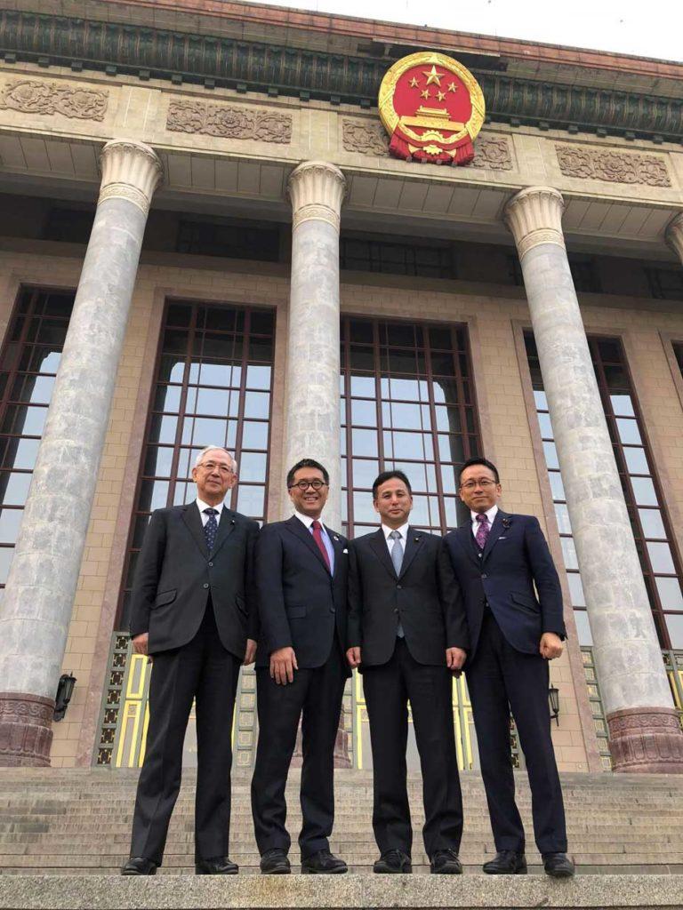 人民大会堂訪問~北京にて~