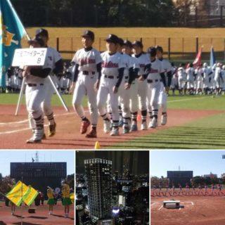 朝の少年野球大会の開会式から始まり、午後から再び上京。大学の同窓の集いへ