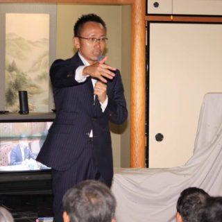 愛知県大治町の支部会にて時局報告