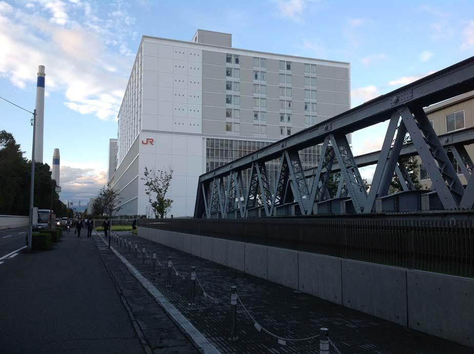 JR東海の三島総合研修センター。20年前に新幹線の運転免許を取得した懐かしい場所