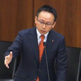 国土交通委員会にて質疑