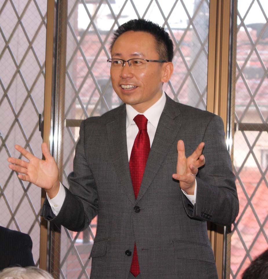 昨日は金庭名古屋市議のお地元へ。11年目を迎える「金庭さんと語る会」