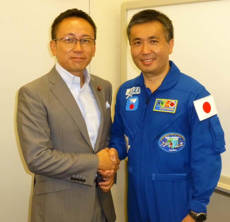 日本人初の国際宇宙ステーション船長ー若田宇宙飛行士