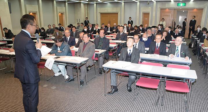 伊藤、新妻氏 党県本部セミナーで強調 愛知・豊橋市
