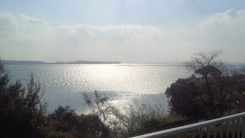 お正月に撮った浜名湖