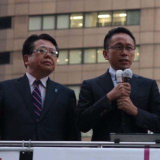 告知 11/22(土) 山口代表との街頭演説会