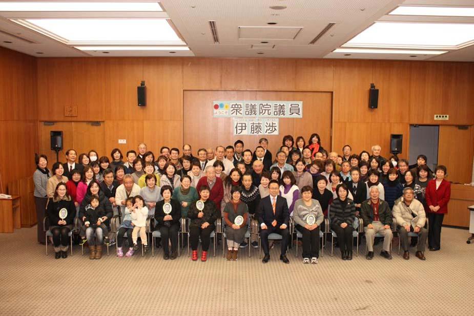 中川区と尾張旭市の支部会でご挨拶させていただきました
