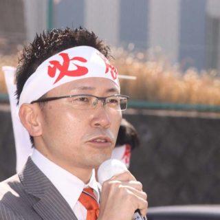 三重県下市議選の応援へ
