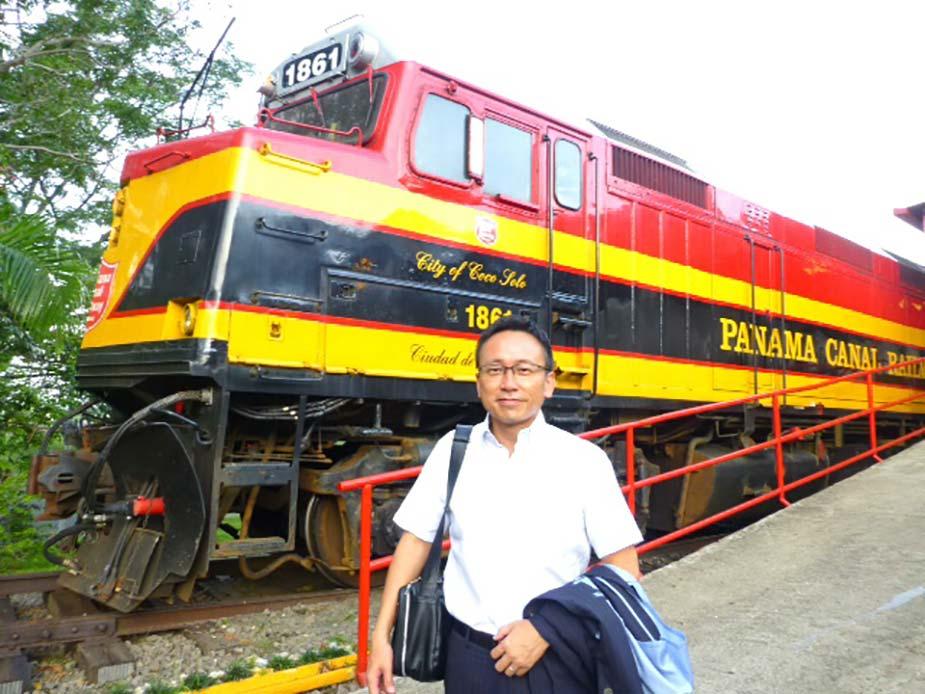 パナマ運河鉄道