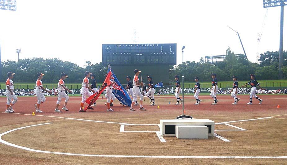 火曜日の少年野球大会