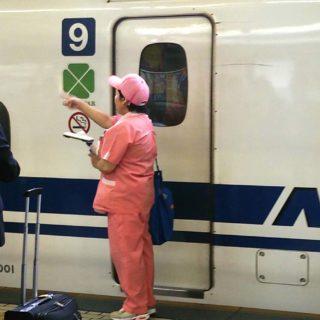 新幹線のお母さん