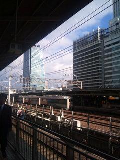 今朝は東京へ向かいます