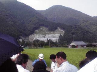 三重県夏期議員研修のため大台町(旧宮川村)へ