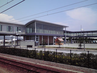 JR勤務時代に携わった清水駅の自由通路・橋上駅舎化の一部