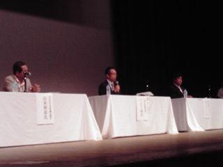 JC主催の討論会へ出席