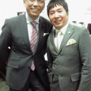 太田総理の収録へ