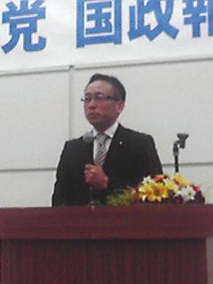 岐阜県各地で国政報告会