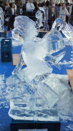 世界最高峰のレベルを誇る氷彫刻大会