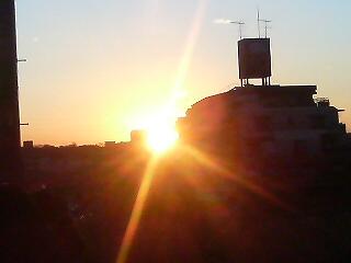 名古屋の初日の出