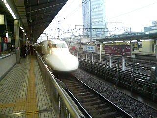 今朝の新幹線