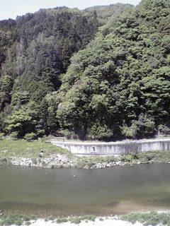 愛知県下の山間部へ