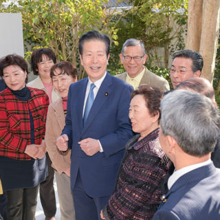 東日本大震災から8年。山口代表、井上副代表を中心に被災地へ