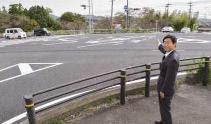 (公明 TOWN NEWS)危険な交差点に右折車の停止線/愛知・春日井市