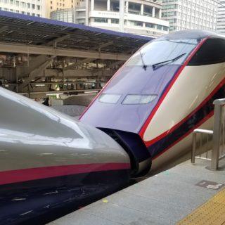 型の違う新幹線同士の連結