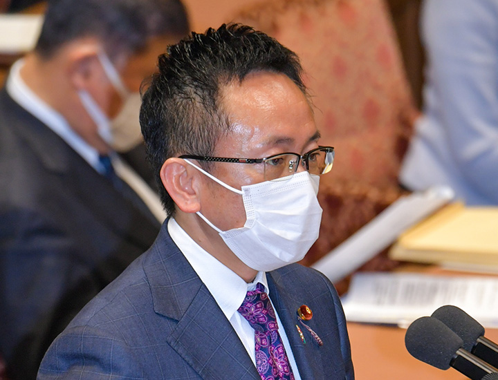 伊藤氏=29日 衆院予算委