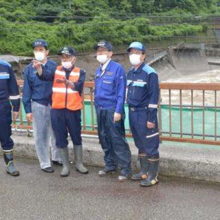 岐阜県下呂市の被災状況を視察