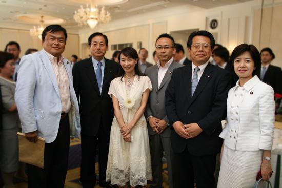 日中国交正常化35周年記念「日中相互交流拡大の集い」