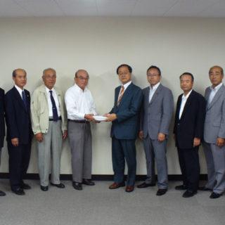名古屋環状2号線の整備促進を要望