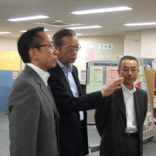 渋谷労働基準監督署・ハローワーク渋谷・マザーズハローワーク東京を視察