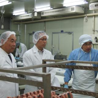 (社)全国食肉学校を視察