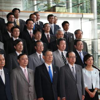 福田内閣で政務官再任