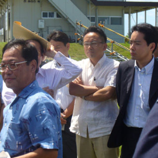 沖縄米軍基地を視察