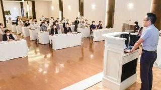 交付金活用に知恵絞ろう/夏季議員研修会で団結を確認/党三重県本部