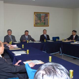 与党教育再生検討会に出席