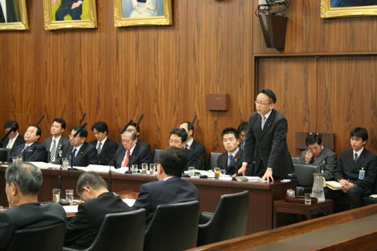観光立国推進基本法案について参議院で答弁