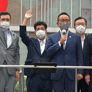 きょう終戦から76年/記念日前に街頭演説/愛知で伊藤氏ら